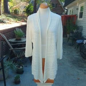 Coldwater Creek Open Cardigan Size Large